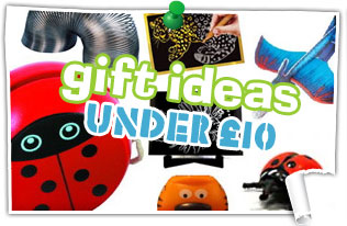 Kid's gifts under 10